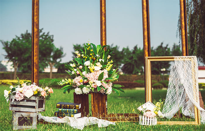 济南草坪婚礼案例一