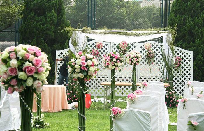 济南草坪婚礼案例二