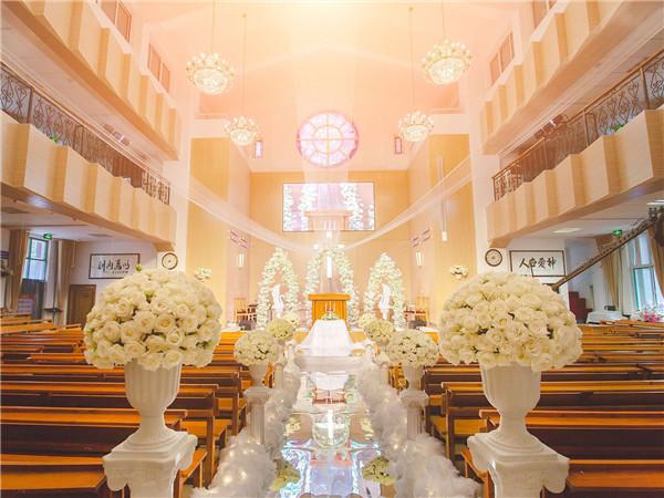 济南那座教堂可以办婚礼