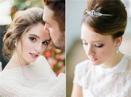 今年夏季流行的6大新娘妆