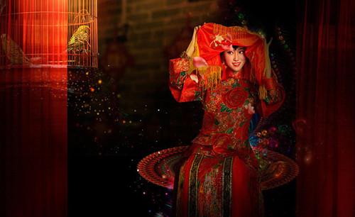 传统中式新娘妆的特点 济南婚庆公司为您分享
