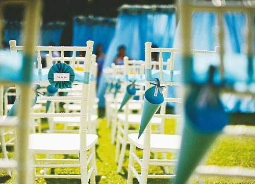 婚礼中椅背花的装饰技巧与创意_济南婚庆公司为您分享