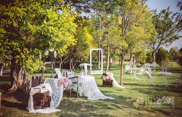 草坪婚礼-真爱加冕