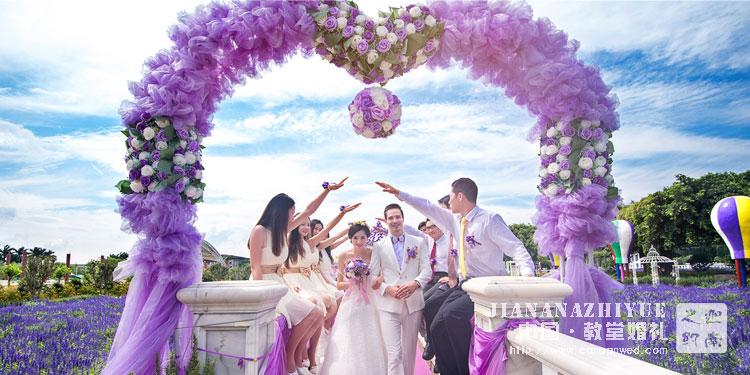 济南婚庆公司现场婚礼布置