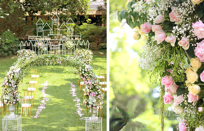 草坪婚礼-城堡