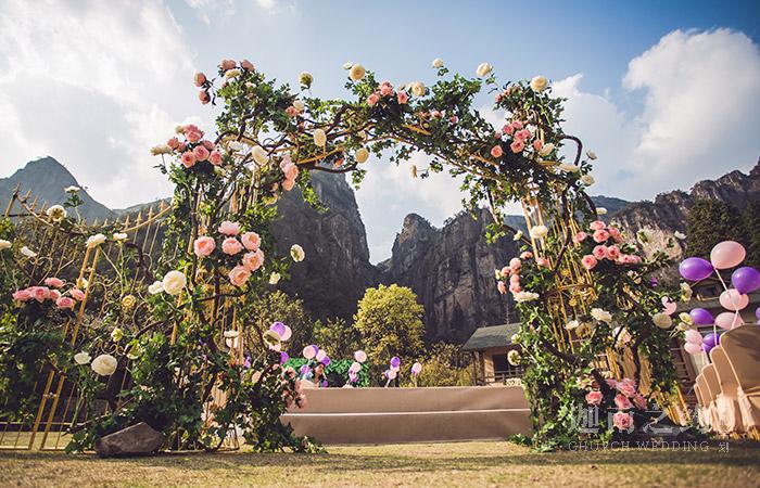 一万里的晴空-草坪婚礼