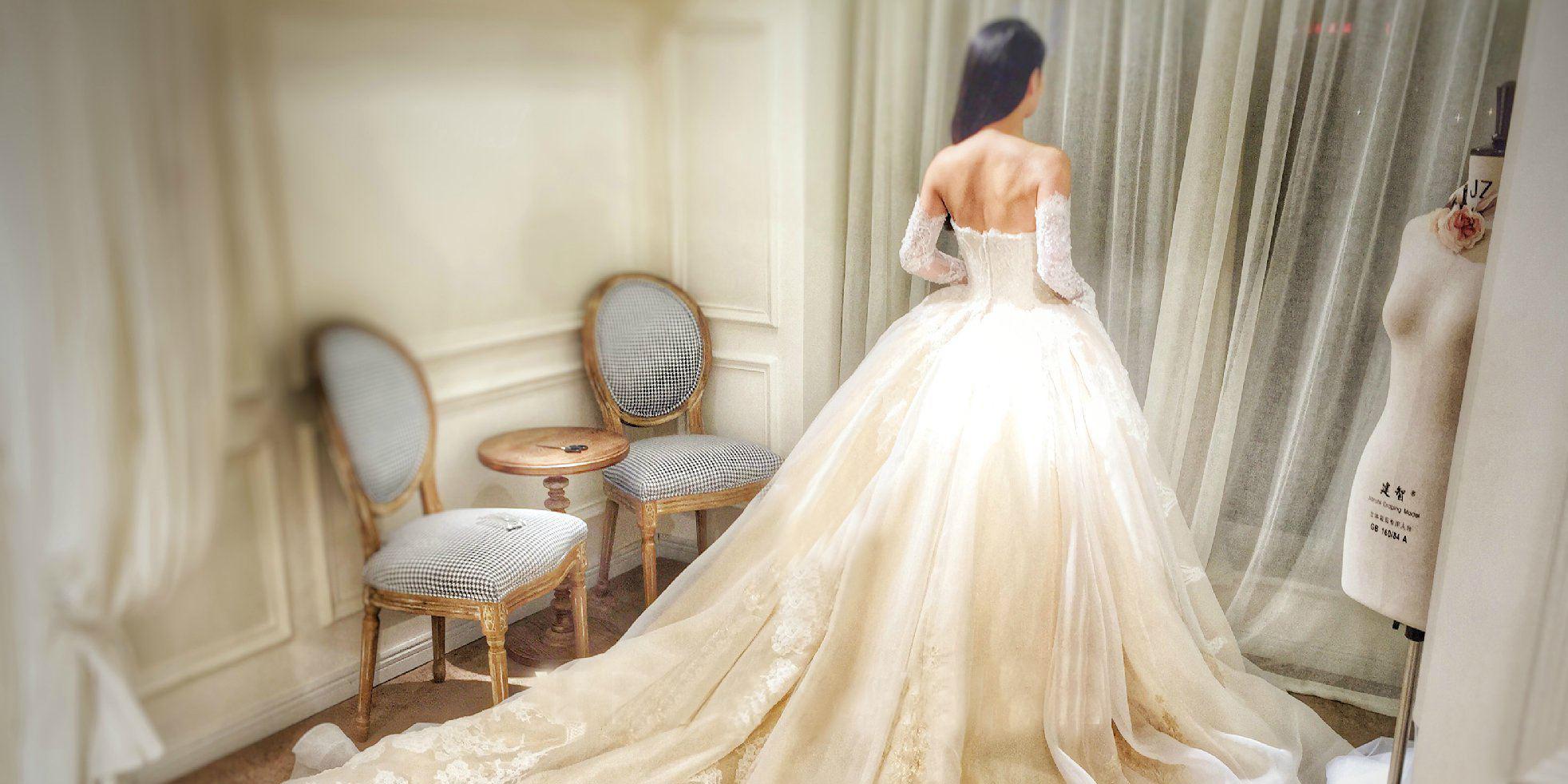试穿婚纱前的准备工作