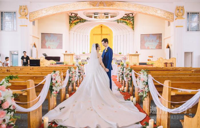 醉眼繁华·济南教堂婚礼