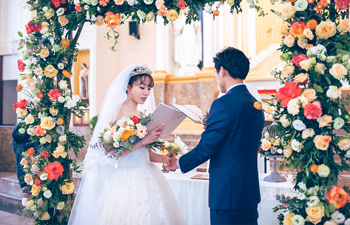教堂婚礼·Morgan watt